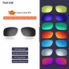 Polarized Replacement Lenses For-Oakley Fuel Cell 9096 Sunglasses SydneyAU Stock