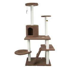 """78"""" Cat Tree Tower Condo Furniture Scratching Post Pet Kitty Play House"""