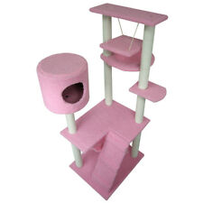 """65"""" Cat Tree Tower Condo Furniture Scratching Post Pet Kitty Play House"""