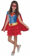 Supergirl Deluxe Child Sequin Costume Halloween Party Fancy Dress