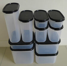 Tupperware Modular Mates Oval-Square Combination (Set of 10) + Free Shipping