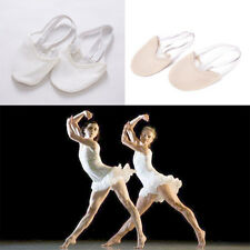 Half PULeather Sole ballet pointe Dance Shoes Rhythmic Gymnastics Slippers KW
