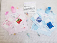 PERSONALIZED BABY SHOWER DIRTY DIAPER GAME CARDS - BOY GIRL - SET OF 10