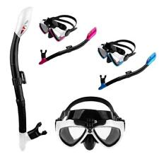 Anti-Fog Adult Snorkel Mask Dive Snorkeling Set Camera Mount Scuba Goggles