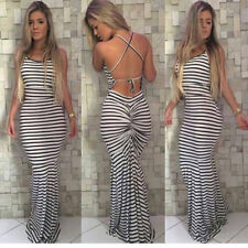 Womens Sexy Summer Dress Boho Long Maxi Evening Party Dress Beach Dress Sundress