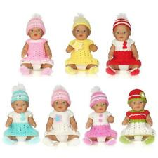 Sleeveless Dress Full Set Baby Dolls Accessories for 17 INCH Zapf Baby Born Doll