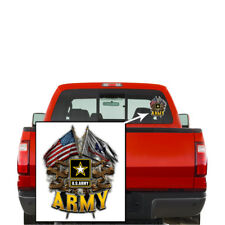 US Army United States Army Double Flag decal Sticker
