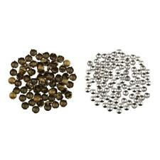 100Pcs Cone Studs Spots Rivets Punk Nailheads Spike for Bag Bracelet Leather