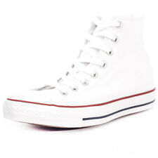 Converse Chuck Taylor Allstar Mens White Canvas Casual Trainers Lace-up