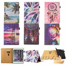 For iPad smart tablet case pu leather card slots stand cover magnetic flip folio