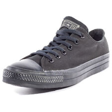 Converse Chuck Taylor All Star Ox Mens Trainers Black Black New Shoes
