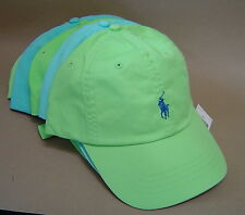 NWT POLO RALPH LAUREN Regular & Big Tall CHINO SPORTS CAP PONY Baseball Golf Hat