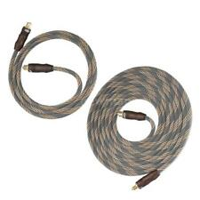 3.3/9.8ft Digital Optical Audio Cable Toslink Cable 24k Gold Plated SPDIF Y5T4