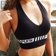 Lucylizz New Active Wear Compression Sports Bra top Female Gym Crossfit Padded