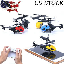 Mini Helicopter RC 2CH Radio Remote Control Aircraft Micro 2 Channel Aircraft US