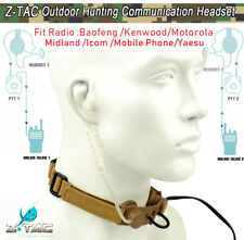 Z Tactical Bowman Throat Mic Adapter For Style EVO III Dual Side Headset