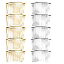 10pc Vintage 85mm DIY Wire Comb Metal Hair Combs DIY Wedding Bridal Hair Jewelry