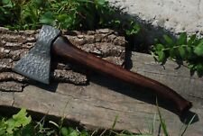 Hand Forged Viking Axe High Carbon Steel Hand made (axe-1)