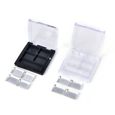 Empty4 Square Grids Eyeshadow Lipstick Powder Box Cosmetic Packing+Palette 4FR