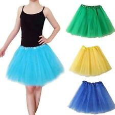 Women Girls Ballet Dance Tutu Skirt Cut Layered Tulle Lace Mini Short DressHot