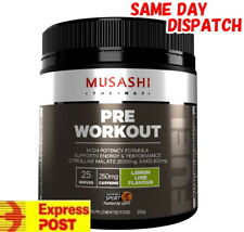 MUSASHI PRE-WORKOUT 25 SERVES ENERGY PERFORMANCE