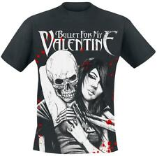 Bullet For My Valentine Russian Roulette T-Shirt black