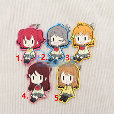 TT538 Hot Anime Lovelive Love Live! rubber Keychain Key Ring Rare straps Cosplay