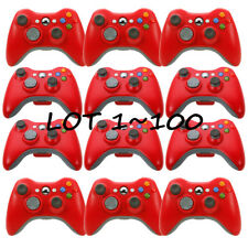 LOT100 Microsoft Xbox 360 Wireless Controller Remote Red - Brand NEW USA Seller!