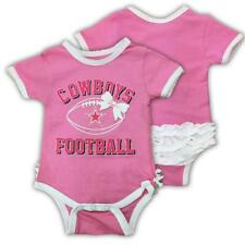 DALLAS COWBOYS NFL FOOTBALL INFANT GRACE TUTU WITH A BOW BODYSUIT- PINK ONSIE