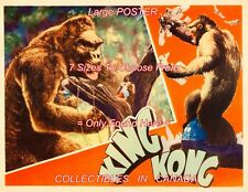 """KING KONG 1933 = Fay Wray In Tree JUNGLE 002 = MOVIE POSTER 7 SIZES 19"""" - 36"""""""