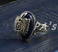 Vampire Diaries Salvatore Damon D crest ring great gift identical duplicate