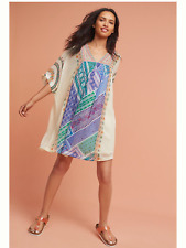 Anthropologie Veena Beaded Caftan Dress By Tanvi Kedia PXXS PXS 2XS M NWT $168