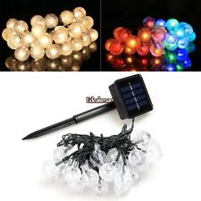5M 30 LED String Light Solar Power Outdoor Party Christmas Decor Light ES88