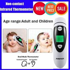 LCD Digital Non-contact IR Infrared Thermometer baby Forehead Temperature MetNS