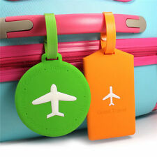 Travel Luggage Tag Cartoon Label Address ID Name Luggage Tag Suitcase Tag Case