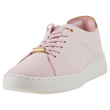 Lacoste Eyyla 317 Womens Pink Leather Casual Trainers Lace-up Genuine Shoes