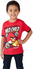 Angry Birds Toddler Boys Red Graphic T-Shirt