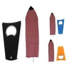 Surfboard Accessories - 6' Surfboard Stretch Sock Cover Bag + Wax Comb Tool