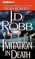 IMITATION IN DEATH by Nora Roberts 8 Cassette Audiobook Unabridged