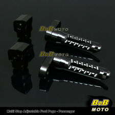 FOR Triumph Speed Four 2002-2006 Multi Step Adjustable Rear Foot Pegs