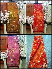 Thai - Indonesia Sarong Fabric Batik Floral Multi-Color (Discount for New Year)