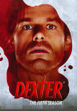 Dexter: The Fifth Season (DVD, 2011, 4-Disc Set), PLAYS GREAT.