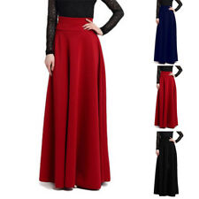 Women's Long High Waist Maxi Skirts Gypsy Stretch Full Length Dresse Plus Size