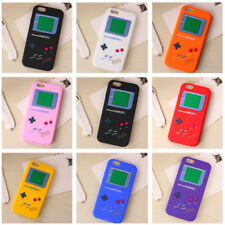 For Apple IPHONE 4 5S 6S 7 8 Plus Silicone Skin Case Cover Game Boy Player