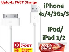 iPhone 4 4S USB Data Sync Charger Cable for iPad 2 3 iPod touch cord - AU Stock