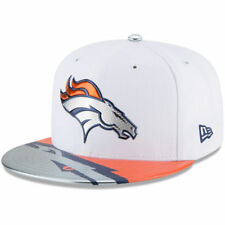BNWT Denver Broncos New Era 59Fifty Fitted Cap (7) NFL Draft Official On Stage