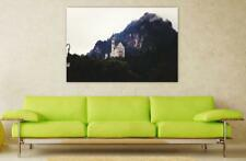 Canvas Poster Wall Art Print Decor Neuschwanstein Castle Germany