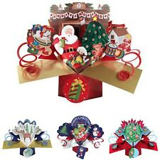 CHRISTMAS CARD POP UPS 3D SPECIAL XMAS CARDS FREE 1ST CLASS DELIVERY