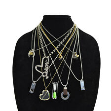 NEW Marc by Marc Jacobs Gold / Silver Multi Charm Pendant Necklace
