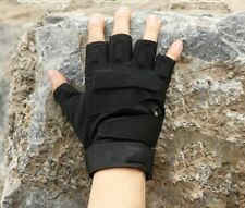 Driving Mittens Antiskid Fingerless Gloves Cycling Tactical Gym Motorcycle